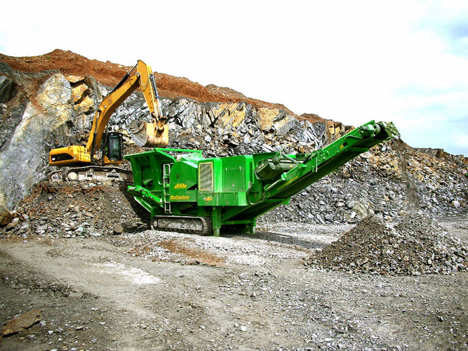 asphalt crushing machine